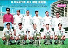 EQUIPOS DE FÚTBOL: REAL MADRID Campeón de la Copa Intercontinental 1960