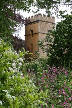 In the garden of Sudeley Castle