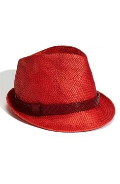 Burberry red dressmesweetiedarling Red Hats 355ad7a0d375