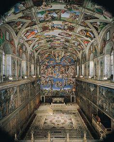 Vatican City. The Sistine Chapel