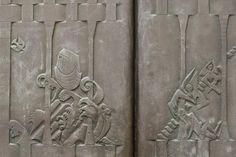 https://flic.kr/p/ta4Sqh   Arche Noah / Jakobsleiter   Maria von den Engeln, Brühl  Dann wartete er noch weitere sieben Tage und ließ wieder die Taube aus der Arche. Gegen Abend kam die Taube zu ihm zurück, und siehe da: In ihrem Schnabel hatte sie einen frischen Olivenzweig.  (Mose 6, 10 - 11)  Da hatte er einen Traum: Er sah eine Treppe, die auf der Erde stand und bis zum Himmel reichte. Auf ihr stiegen Engel Gottes auf und nieder.  (Genesis, 28, 12)