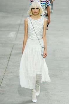 Chanel / Karl Lagerfeld // SS14 / RTW // PFW // Ph: Yannis Vlamos // Ft: Caroline Brasch Nielsen