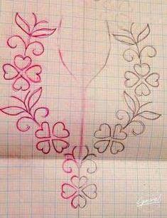 Resultado de imagem para neck line art work