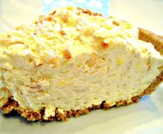 Quick and Easy Tropical Coconut Creme Pie - 1 1/2 c. Crushed Ginger Snap Crumbs 1/3 c. Sugar 5 Tbsp. Melted Butter 1 3.4 oz Box Coconut Cream Instant Pudding Mix (I use Jello brand) 1  3.4 oz Box Vanilla Instant Pudding Mix (Jello brand) 1 1/2 c. Milk 2 c. Cool Whip, thawed 1/2 c. Crushed Pineapple 1 c. Shredded Coconut