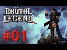 Brutal Legend detonado PC Escape the Temple of Ormagoden - parte 1 vamos jogar gameplay comentado