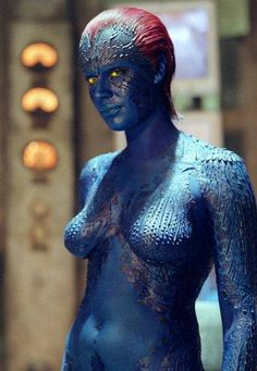 Jennifer Lawrence explains why Mystique is nude in much of X-Men: Days of Future Past