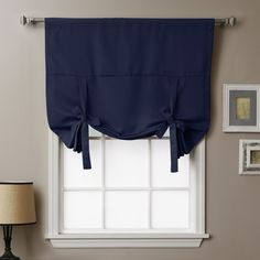 Thermal Insulated Blackout Tie-Up Shade