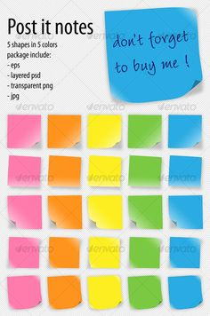 Buy post-it notes by cristianalm on GraphicRiver. 25 post-it notes 5 shapes in 5 colors package includes: - eps - layered psd - transparent png - jpg Background Images Wallpapers, Wallpaper Backgrounds, Business Presentation, Presentation Templates, Background Templates, Background Patterns, Thursday Motivation, Life Plan, Graphic Design