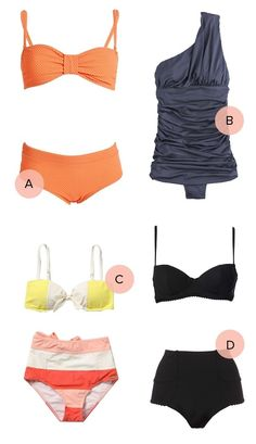 4 adorable bathing suits