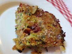 Cukkini pite (lisztmentes) Avocado Toast, Quiche, Bacon, Paleo, Food And Drink, Veggies, Vegetarian, Vegan, Breakfast