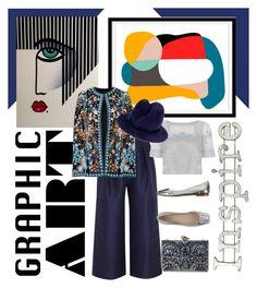 """Graphic Art"" by cool-cute ❤ liked on Polyvore featuring Dot & Bo, Roksanda, KOTUR, Naeem Khan, Bagatt, Temperley London, Gigi Burris Millinery, Enchanté, women's clothing and women"