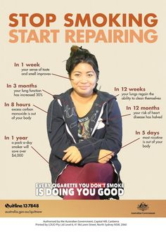 Stop Smoking Start Repairing. Inspiration to never touch one again !