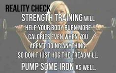 pump up with some free weights.