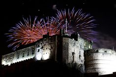 #StAndrewsDay #fireworks