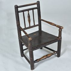 "19th century Childs Chair with Original paint Width: 17"" / 43 cm Depth: 12"" / 31 cm Height: 24"" / 62 cm"