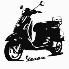Vespa Wall Sticker, The dullest, plainest wall can be transformed with a pack of wall stickers - inject some colour, or some fun or even inspiration with our gorgeous wall stickers and lovely wall quotes, no wall needs to be