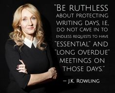 """Be ruthless about protecting writing days..."" 24 Quotes That Will Inspire You To Write More"
