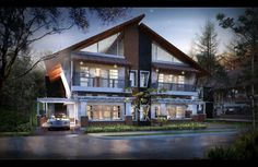 Yankee House, another my house project. Location in Bandung. Architect and 3d visual: Dade Andriana