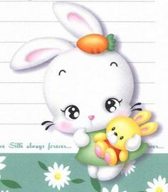 Bunny Drawing, Kids Clay, Bunny Party, Easter Pictures, Cute Cartoon Animals, Cute Cartoon Wallpapers, Beginner Painting, Cute Pins, Felt Fabric