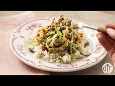 """cabbage stir fry """"A very simple Chinese stir-fry dish which is fabulous in taste. I saw my husband going for two additional servings of it and I had to remind him to leave some for the Stir Fry Dishes, Stir Fry Recipes, Beef Dishes, Meat Recipes, Asian Recipes, Main Dishes, Dinner Recipes, Cooking Recipes, Ethnic Recipes"""