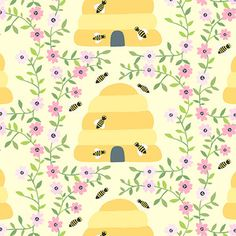 1canoe2 - 1canoe2 - Busy Bees in Yellow