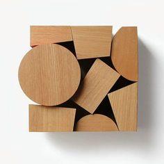 Restruimte: blokken hout