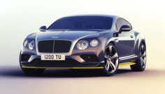 The Bentley Continental GT Speed Breitling Jet Team Series Limited Edition