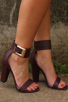 The Best Of Me Heels: Maroon #shophopes
