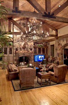Rustic Office Bedroom rustic chair log homes.Rustic Chair Log Homes. Style At Home, Metal Building Homes, Building A House, Building Ideas, Metal Homes, Building Images, Building Plans, Cabin Homes, Log Homes
