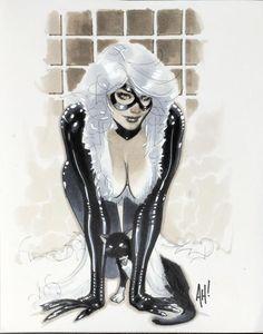 Black Cat by Adam Hughes