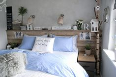 Diy headboard boho chic 69 new Ideas Home Bedroom, Bedroom Decor, Sweet Home Alabama, Fashion Room, Home Hacks, New Room, Lino Natural, Interior Design Living Room, Furniture