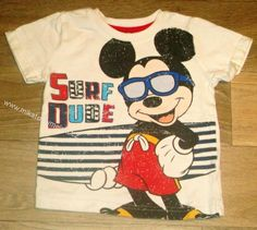 Disney chlapecké bavl. triko Mickey vel 12-18m kluk