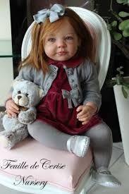 Resultado de imagen para reborn niña con oso