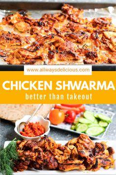 Lebanese Recipes, Greek Recipes, Indian Food Recipes, Ethnic Recipes, Mediterranean Chicken, Mediterranean Diet Recipes, Cooking Recipes, Healthy Recipes, Keto Recipes