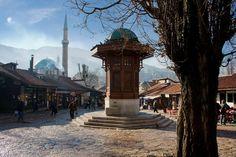 Main square, Sarajevo