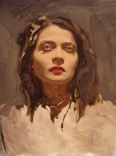 ♀ Painted Art Portraits ♀ Sean Cheetham
