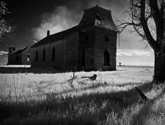 creepy forest and churches | ... # ominous # foreboding # dark # eerie # creepy # sinister # spooky
