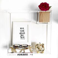 Umbra Cubist Shelf White | Styling & Photography The Swank Social