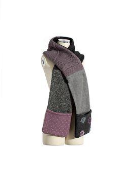 Baabaazuzu upcycled pocket scarf