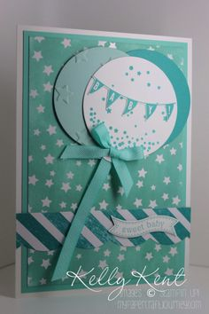 Sweet Baby Boy - Celebrate Today & Irresistibly Yours DSP. Occasions & SAB 2015 - Kelly Kent, mypapercraftjourney.com.
