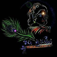 Krishna Gif, Radha Krishna Songs, Krishna Flute, Krishna Drawing, Krishna Statue, Baby Krishna, Cute Krishna, Krishna Hindu, Lord Ganesha Paintings