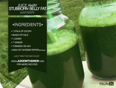 Juice Away Stubborn Belly Fat | fitlife.tv