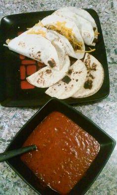 I made tacos & homeade hot sauce