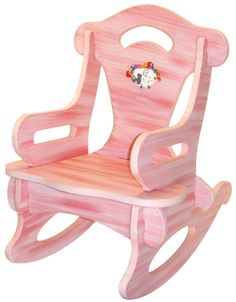 ... Rocking Chair, Solid Wood for Kid, Child, Baby, Boy & Girl - Toy Play