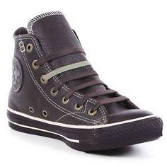 converse all stars  100   Chaussures Converse ALL Star European Leather HI 100 Cuir   eBay