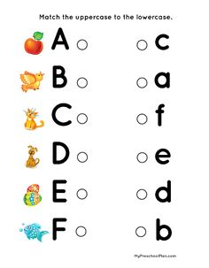 2 Lower Case Alphabet Worksheets Matching Alphabet & Number Printable Pack for Preschoolers — My English Worksheets For Kindergarten, Letter Worksheets For Preschool, Free Kindergarten Worksheets, Alphabet Worksheets, Calendar Worksheets, Kindergarten Calendar, Pre K Worksheets, Alphabet Charts, Alphabet And Numbers