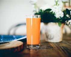 Carrot Coconut Bunny Brew via Happyolks for The Chalkboard