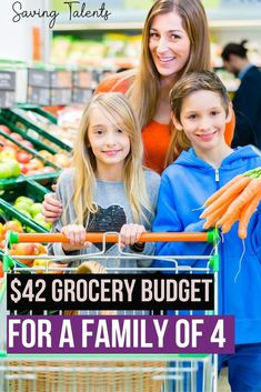 Here is the secret to a $42 weekly grocery budget for a family of 4! (and no, it's not couponing!) If you are trying to live a frugal lifestyle and stay in a thrifty budget for your food, these tips and tricks to will give you the simple steps you need to feed your family for only $42 per week! #budgeting #frugal Money Saving Meals, Save Money On Groceries, Save Your Money, Ways To Save Money, Money Tips, How To Make Money, Frugal Living Tips, Frugal Tips, Best Insurance