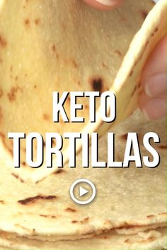 Ketogenic Recipes, Low Carb Recipes, Diet Recipes, Cooking Recipes, Keto Tortillas, Fresh Tortillas, Keto Regime, Comidas Light, Comida Keto
