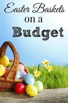 Easter Baskets on a Budget Easter Crafts For Kids, Easter Ideas, Saving Money, Saving Tips, Money Savers, Easter Holidays, Easter Party, Egg Decorating, Easter Recipes